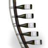 5Flaschler mit Edelstahlsockel und Edelstahlbogen